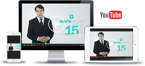Assita nosso canal SAFEGROUP SAF GROUP no Youtube